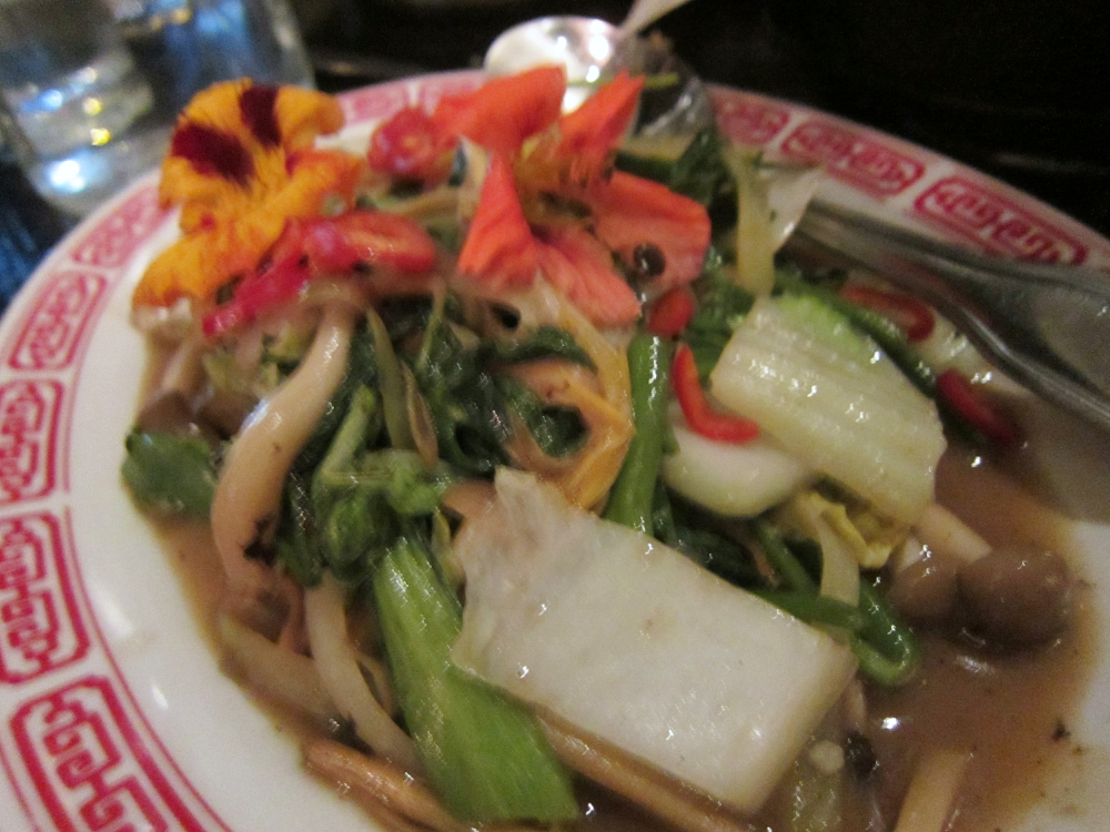 Mixed garden green stir fry