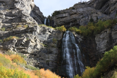 Bridal Veil Falls at Provo Canyon