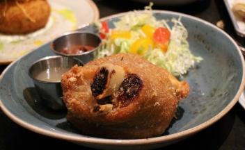 Crispy pata (confit pork shank)