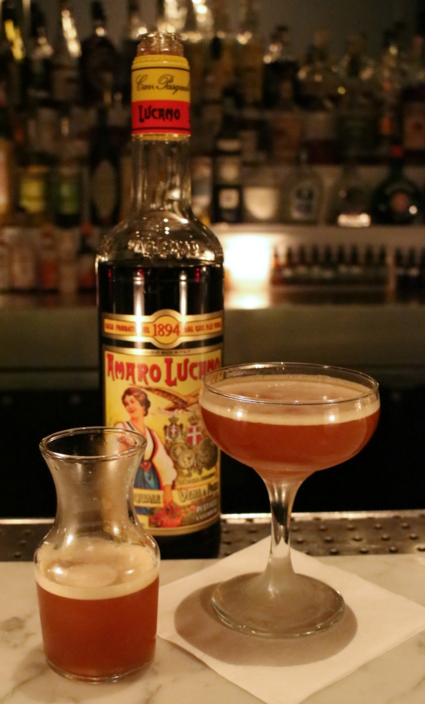 A rare, Amaro Lucano-based cocktail